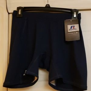Russell Athletic Navy  Blue Shorts Size M